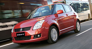 "Suzuki  Trade bonus: Suzuki is offering ""scrappage"" bonuses on its new cars, including the Swift."
