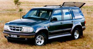 Ford Explorer Time to retire: Ford Explorers sold here before November, 1997, are affected by a Firestone tyre recall.