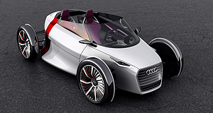 General News Technology Tall order: Audi's Urban Concept is a good example of which direction road tyre-maker Pirelli believes the industry's future is taking.