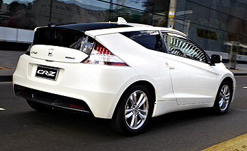 2011 Honda CR-Z Luxury coupe | GoAuto - something