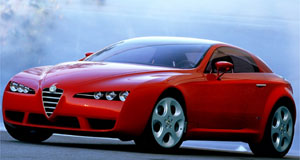 Alfa Romeo Brera Holden-powered: Brera will use an Aussie-built twin-turbo V6 punching out 350kW.