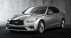 Infiniti 2017 Q50 Spot the difference: The Q50 has undergone only a minor facelift over the current model that was released in 2014.