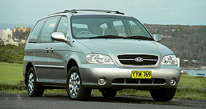 Kia Carnival Engine woes: Carnival's Rover-sourced K-Series V6 has come under scrutiny.