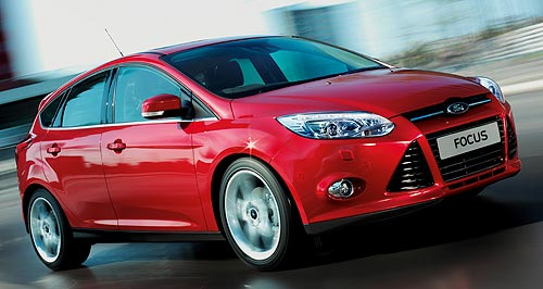 Ford Focus German Focus: Ford's all-new small car has hit Australian dealerships.