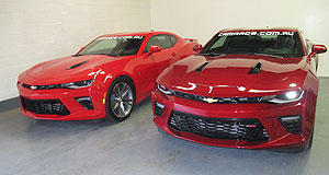 Chevrolet Camaro Conversion Firm Preps Right Hook Chevy