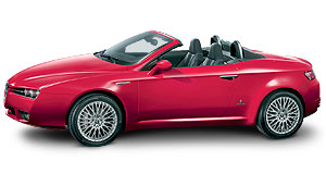 Alfa Romeo 2007 Spider Arachnid: All-new Alfa Spider will be available in front or all-wheel drive.