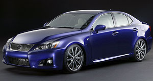 Lexus 2008 IS IS-FM3 chaser: Lexus' compact IS sedan will get M3-style V8 firepower in 2008.