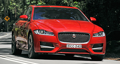 Jaguar  Feeling XE: Jaguar's XE breached a new segment for the brand last year, allowing its new XF to focus more on large luxury passenger customers and fleet buyers alike.