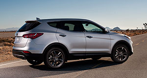 Hyundai 2012 Santa Fe Coming soon: The new Santa Fe SUV will hit Australian Hyundai showrooms by year's end.