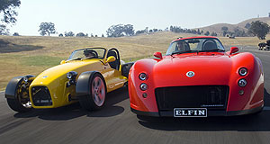 Elfin  Export aim: The MS8 Clubman and Streamliner will be exported.