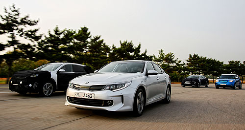 Kia  New for old: Kia has already dipped its toe in to hydrogen fuel-cell tech with the Borrego/Mohave FCEV that was used in trails in Korea and the US back in 2010.