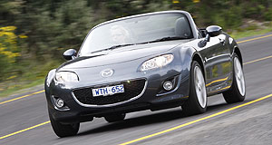 Mazda 2012 MX-5 Next gen: The new MX-5 has just arrived, but Mazda is already looking forward to the next model, in 2012.