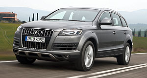 Audi  Big enough: The next-generation Q7 will be smaller than the current car.