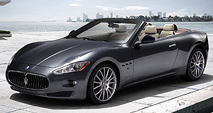 Maserati 2010 GranCabrio Topless trident: GranCabrio is the first Maserati convertible since the 2006 Spyder.
