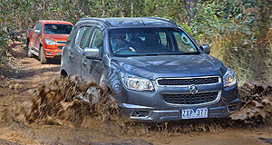 Holden Colorado rangePower shift: Holden's updated Colorado's 2.8-litre diesel engine is now the most powerful oil burner in its class.