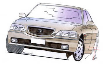 1998 Honda Legend sedan Car Review