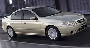 Ford  Eurocentric: Ford's BFII Fairmont features a German-built six-speed auto.