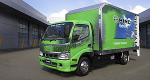 Hino 300 HybridGoing green: Australia is only the second market to get the groundbreaking diesel-electric truck.