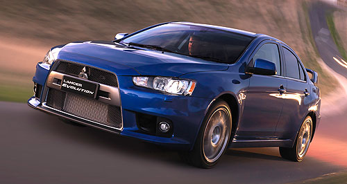 Mitsubishi 2015 Lancer EvolutionEvolutionary: Mitsubishi sets pulses racing with a hint at an electric Lancer Evo at the Paris motor show - before saying it was a mistake.