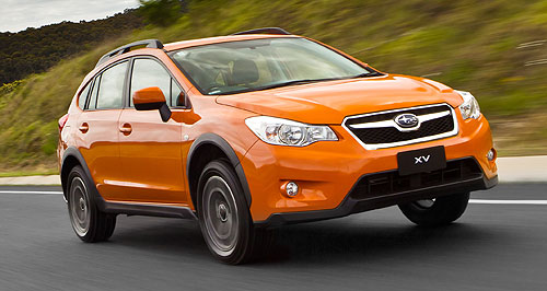 Subaru  Sporty future: The XV has helped boost Subaru sales in Australia where Inchcape is set to continue distribution of the brand.