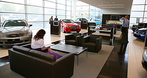 Infiniti  Infiniti and beyond: Nissan has launched its new luxury brand with only two of its intended three retail outlets on the east coast, but could expand to as many as 20 within five years.