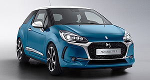 DS 2016 DS3 More changes: The latest upgrades to the DS3 range follow a refresh that arrived in April last year.