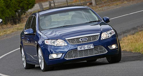 Ford 2015 Falcon Caption: Ford's Falcon will become available with advanced new LPG and turbo-four engines next year.