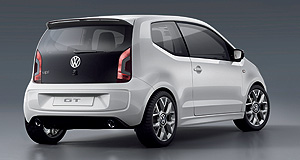 Volkswagen 2013 Up! GTFeatherweight champion: Volkswagen has turned its tiny Up city car into a hot hatch with the GT concept.