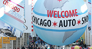 Chicago 2016 Crowd pleaser: The Chicago Auto Show is sure to attract a lot of punters.
