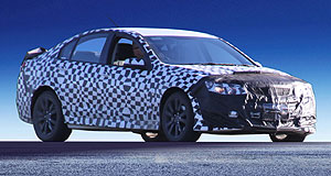 Holden 2013 Commodore Safe future: The 2013 VF Commodore will be fitted with safety technology that will also feature in GM's other large car, the Chevrolet Impala.
