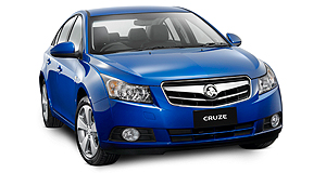 Holden 2011 Cruze Running late: The locally made Holden Cruze will now hit the showrooms in March.