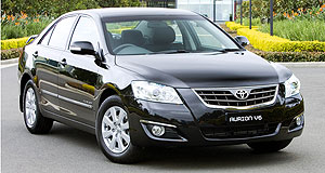 Toyota Aurion Touring sedanExtra: Aurion Touring adds 16-inch alloys, among other items.