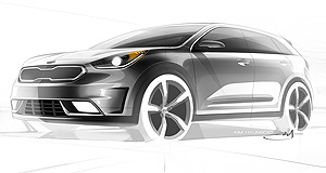 Kia  Future star: A production version of the Niro concept is likely to be offered in Australia in the coming years, and Kia has high hopes for it Down Under.