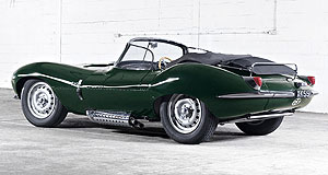 Jaguar 2017 XKSS Cat with nine lives: Original Jaguar XKSS roadsters were converted D-Type racers, but the 2017 version will be hand-built from scratch.