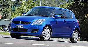 Suzuki 2013 Swift Switch up: Suzuki Australia may eventually import its popular Swift from Thailand, rather than Japan.
