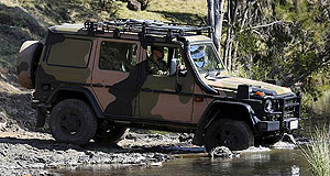 Mercedes-Benz G-Class G300 MilitaryMarching orders: The Australian Defence Force has taken the first delivery of the specially designed Mercedes-Benz G-Wagons that will continue under a 15-year lifecycle contract.
