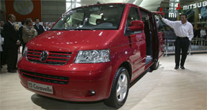 Volkswagen 2004 Caravelle More than Transporter: VW's all-new Caravelle made its first appearance outside Europe.