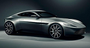 Aston Martin 2016 DB11 Bond: Aston Martin's DB9-replacing DB11 was spied in Melbourne undergoing testing and could take cues from the DB10 (left) that was featured in the most recent Bond film.