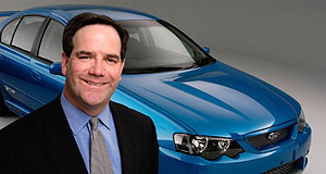 "Ford  Optimistic: Blue Oval boss Tom Gorman says that despite losing buyers to Territory, Falcon had a successful 2005 - ""on balance""."