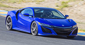 Acura  American dream: The NSX supercar is sold as an Acura in the United States and the Honda-badged version that arrives here later this year will be built at the Marysville, Ohio plant.