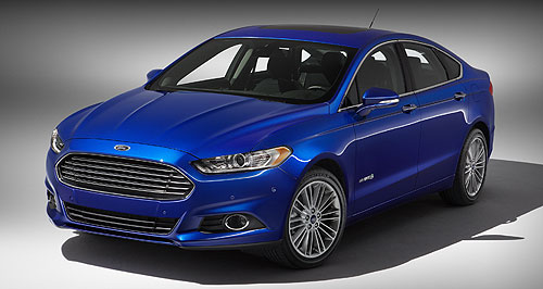 Ford Falcon First up: The first model to appear on Ford's new C/D platform was North America's new 2013 Fusion sedan, which debuted at the Detroit show last week.