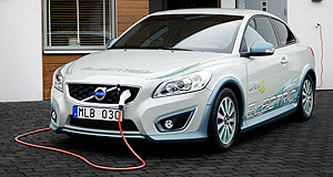 Volvo 2011 C30 DRIVe ElectricElectric twist: Volvo is using the C30 DRIVe Electric as the basis for its radical range-extending hybrid program, which can extend the EV's driving range by up to 250km.