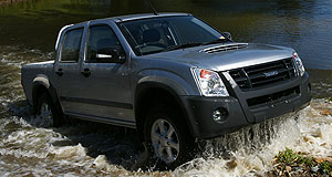 Isuzu D-Max Utility rangeMy name is Max: Isuzu's D-Max is mechanically identical to Holden's 'new' Colorado, and shares its styling with the previous-model Rodeo.