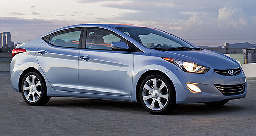 Hyundai Elantra Slick: While it will be more expensive than the outgoing model, Hyundai's stylish new Elantra will still undercut the starting price of the Mazda3 and Toyota Corolla.