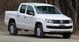 Volkswagen  Tech fix: The Amarok is the first Volkswagen model in Australia to be called in to fix the diesel emissions cheating issue.