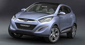 Hyundai 2010 ix35 New Korea: The European-designed Hyundai ix-onic concept is set to replace the Tucson.
