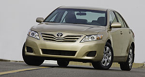 Toyota 2009 Camry Toyota tweak: Australia's facelifted Camry is set to mimic the design changes of the North American model.