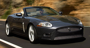 Jaguar  Best of British: Jaguar's new XKR convertible.