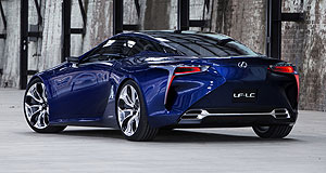 Lexus 2015 LF-LC Wouldn't it be nice: The Lexus LF-LC concept is widely regarded as a production certainty as a sports coupe, with a possible debut at this year's Tokyo motor show in November.