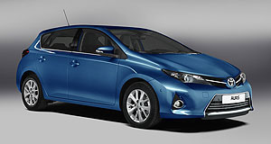 Toyota 2012 Corolla Euro influence: Toyota claims its lower new Corolla features sharper, European-tuned road manners.
